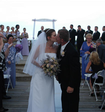 beautiful sunset beach wedding exclusively planned coordinated by stephanie r jones excellent events